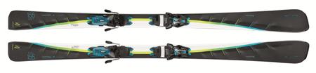 Elan smuči za alpsko smučanje Speed Magic PS PS ELW11.0 AC0B, 145 cm, črne/bele