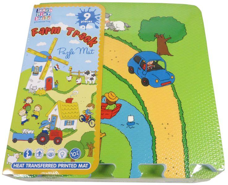 MaDe Pěnové puzzle - Farma
