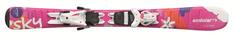 Elan smuči za alpsko smučanje Sky QS EL7.5 AF2BXW16, 150 cm, roza