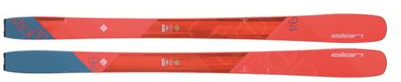 Elan smuči za alpsko smučanje Ripstick 94 W AD1BRE16, 163 cm, rdeče/modre