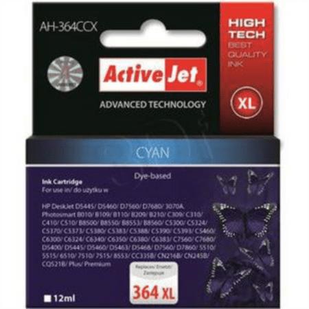 ActiveJet kompatibilna kartuša HP 364 XL, cyan (CB323EE)