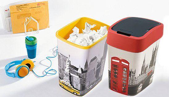 Curver Odpadkový koš Flipbin London 25 l