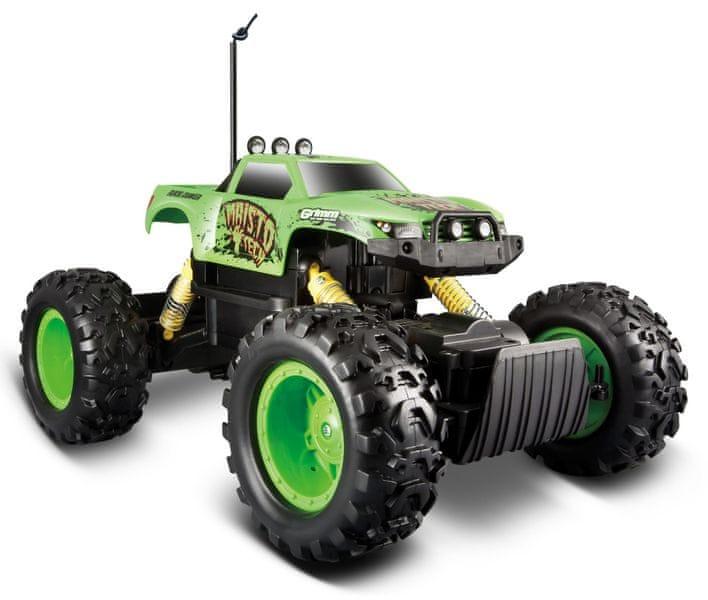 Maisto Rock Crawler - zelený