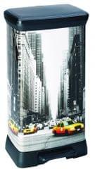 CURVER Decobin 50 l New York szemétkosár