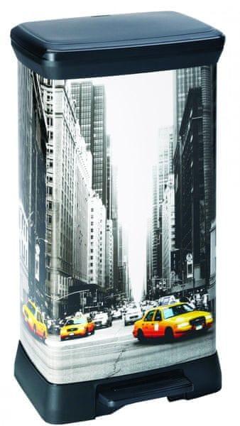 Curver Odpadkový koš Decobin 50 l New York