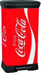 CURVER Kosz na odpadki Decobin 50 l CocaCola