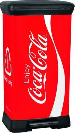 CURVER koš za smeće Decobin CocaCola, 50l