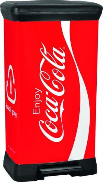 Curver Odpadkový koš Decobin 50 l CocaCola