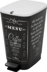 Kis Kosz Chic Bin 35 l Coffee Menu