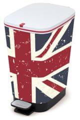 Kis koš za odpadke Chic Bin Union Jack, 35 l