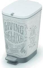 Kis koš za odpadke Chic Laundry, 10 l, siv