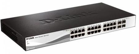 D-Link 24-portno stikalo Gigabit Switch DGS-1210-28
