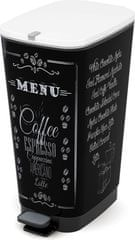Kis Kosz Chic Bin 50 l Coffee Menu