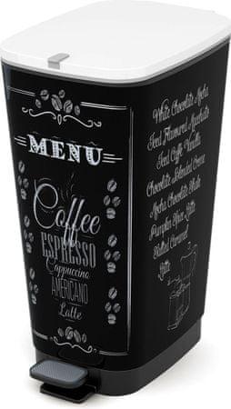 Kis Kôš Chic Bin 50 l Coffee Menu