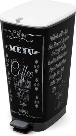 Kis Kosz Chic Bin 50 l Coffee Menu