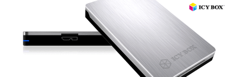"IcyBox zunanje ohišje IB-234-U31a, 6,35 cm (2,5"") SATA, USB 3.1"