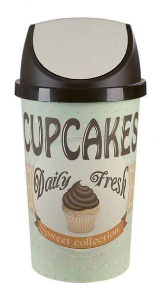 Tontarelli Odpadkový koš 45 l Cupcakes