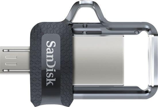 SanDisk USB ključek Ultra Dual Drive microUSB/USB3.0, 128GB