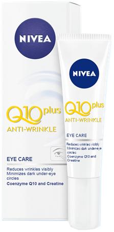 Nivea Q10 Plus krema za oči proti gubam, 15 ml