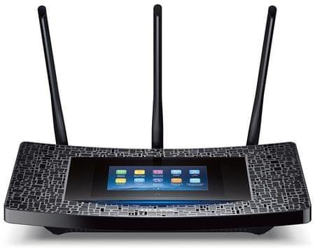 TP-Link ojačevalnik Wi-Fi signala RE590T Touch, AC1900 Dual Band