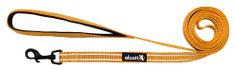 Alcott Nylonové vodítko s reflexnými prvkami neónovo oranžové 180 cm