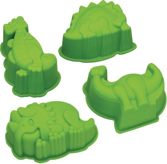 Kitchen Craft Silikonové formy Dinosauři