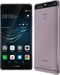 Huawei P9 Dual SIM okostelefon, Titanium Grey