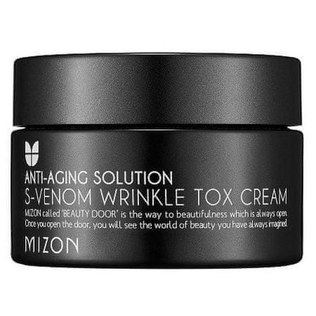 MIZON Pleťový krém s obsahom 4% hadieho jedu proti starnutiu pleti (S-Venom Wrinkle Tox Cream) 50 ml
