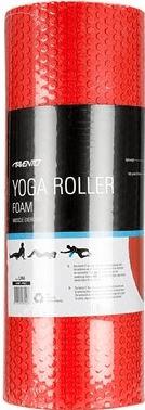 Avenio valj za vaje joge, EVA pena, rdeč