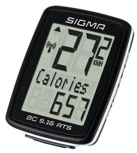 Sigma BC 9.16 ATS Kerékpár computer