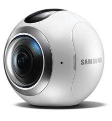 Samsung kamera Gear 360, SM-C200, bela