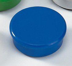 Dahle magnet Y 24 mm, 6 kosov, modri