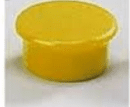 Dahle magnet Y 24 mm, 6 kosov, rumeni