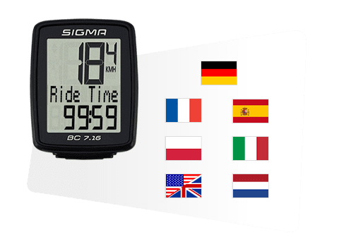Sigma kolesarski števec BC 7.16