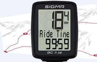 Sigma Licznik rowerowy Sigma BC 7.16
