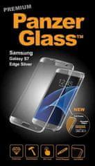 PanzerGlass premium zaščitno steklo Samsung Galaxy S7 Edge, srebrna