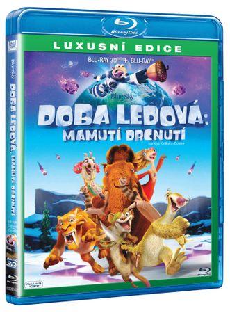 Doba ledová 5: Mamutí drcnutí (3D + 2D verze)   - Blu-ray