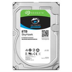 Seagate trdi disk SkyHawk, 8TB 7200 256MB SATA 6Gb/s