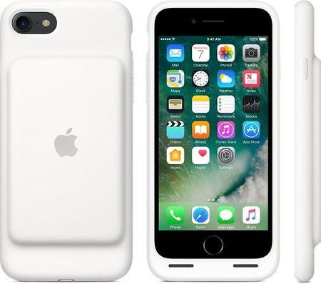 Apple pametni ovitek z baterijo za iPhone 7, bel