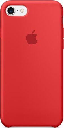 Apple silikonski ovitek za iPhone 7, (PRODUCT) RED