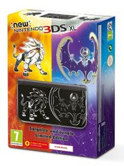 Nintendo igralna konzola New 3DS XL, Solgaleo in Lunala - Limited Edition