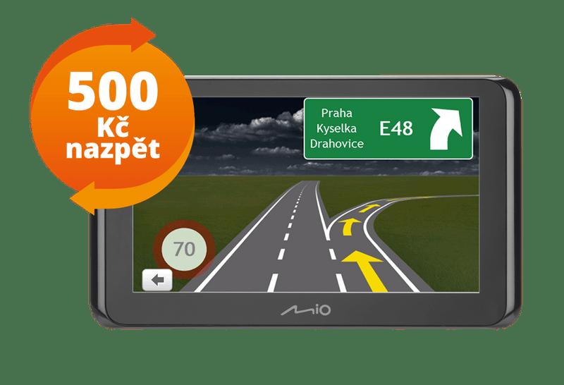 MIO Spirit 8500 EU Lifetime + Cashback 500 Kč!
