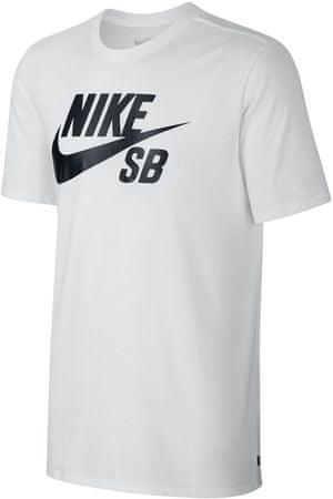 Nike športna majica SB logo, bela, velikost M