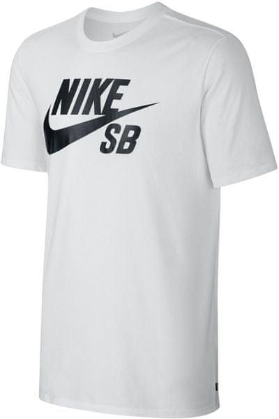 Nike SB logo Tee White/Black S