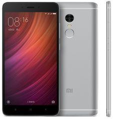 Xiaomi Redmi Note 4, 3 GB/32GB, CZ LTE, Dual SIM, šedý