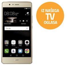 Huawei GSM telefon, P9 Lite, Dual Sim, zlat