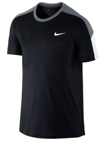 Nike Team Court Crew Férfi póló, Fekete, M