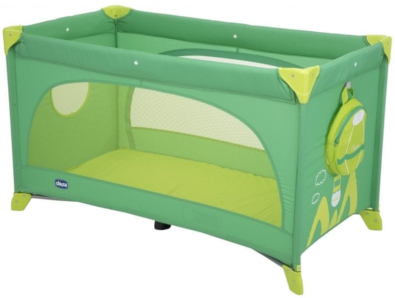 Chicco Postýlka Easy Sleep, Green jam
