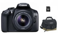 CANON EOS 1300D + 18-55 IS + Canon táska + 8GB memóriakártya