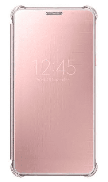 Samsung EF-ZA510CZE Clear View pouzdro Rose Gold pro Galaxy A5 2016 (EU Blister)